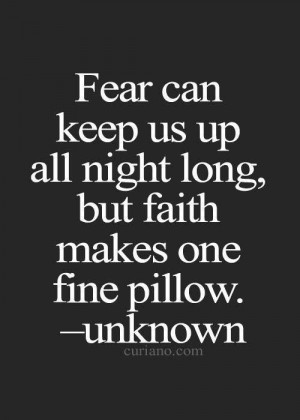 Have to have faith