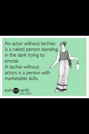 Stage management truth