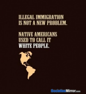 Native American Illegal Immigration