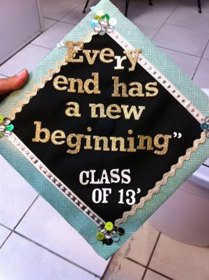 decorated graduation caps