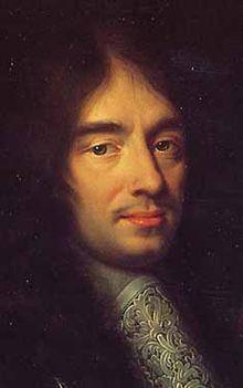 Charles Perrault , portrait par Philippe Lallemand .