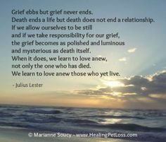 pet loss grief quote