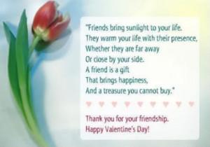 Thanks For Friendship