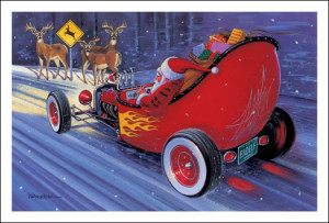 Trains, Vintage Style Cards and of course Pedal Cars (click on pics ...