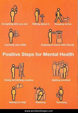 Positive mental h...