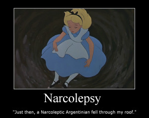 funny narcolepsy quotes