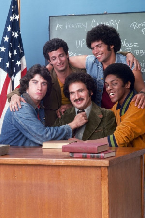 ... -Jacobs, Gabe Kaplan and Ron Palillo at event of Welcome Back, Kotter