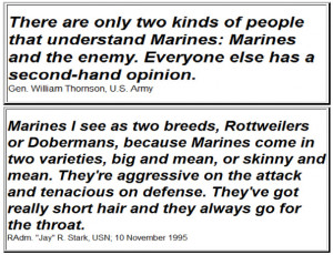 Famous Quotes About Marines