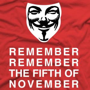 for Vendetta - Remember Remember Fifth of November