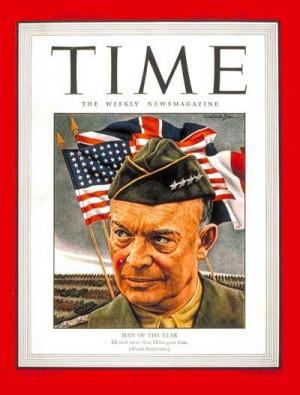 1945: TIME names U.S. General Dwight David Eisenhower its Man of the ...