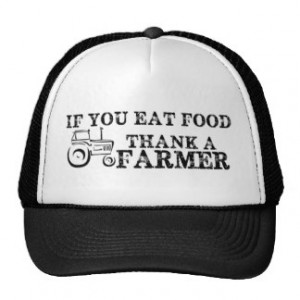 Thank A Farmer Hats