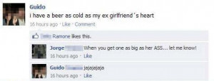 ex girlfriend quotes for facebook