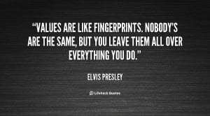 Elvis Quote Values