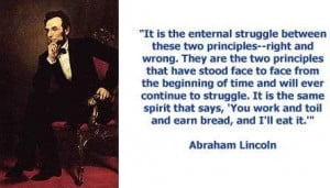 Quotes on abraham lincoln 3