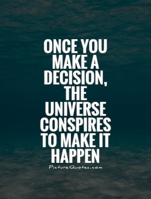 Decision Quotes Universe Quotes Ralph Waldo Emerson Quotes
