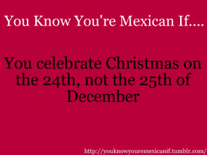 You Know You 39 re Mexican If