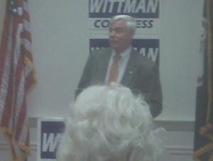 Congressman Rob Wittman s campaign kick off in Fredericksburg