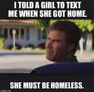told a girl to text me