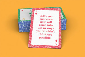 This pack of cards features a series of inspirational quotes to ensure ...
