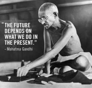 the future depends on