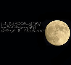 Moon Love Quotes Tags: sky moon love night