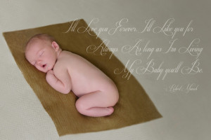 Newborn Baby Quotes With Pictures: Newborn Photography With Quote ...