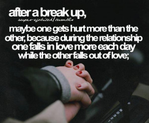 Topics: Break up Picture Quotes , Falls out of love Picture Quotes ...