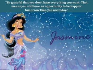 Disney Princess Friendship Quotes Be grateful that you don t
