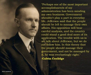 Silent Cal Quote