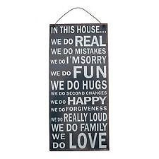 Home, Furniture & DIY > Home Decor > Plaques & Signs