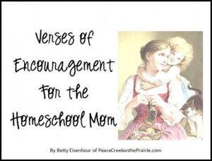Encouragement for Mother's http://peacecreekontheprairie.com/christian ...