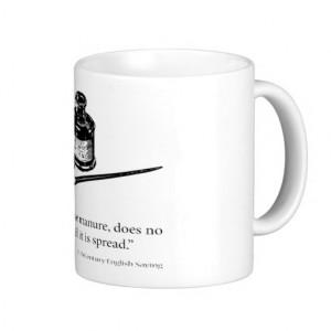 English Saying - Money & Manure - Humor Quotes Mugs