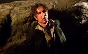 Paul McGann reprising his role as the Eighth Doctor Photo: BBC