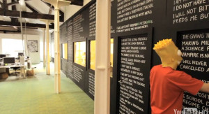 Bart Simpson blackboard quotes (3)