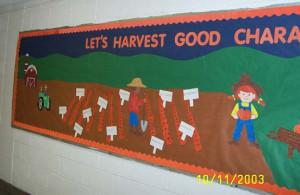 Harvest Time Bulletin Board Ideas