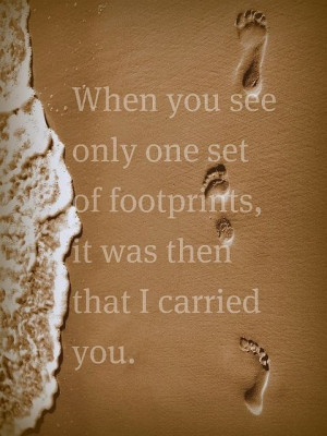 carried youfootprints by ChurchDatabase, via Flickr