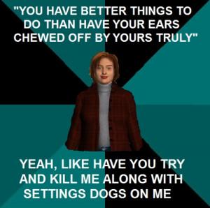 Jackie Moon Meme Nancy drew meme-ghost dogs of