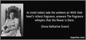 Anna Katharine Green Quote