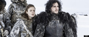 Behind Jon Snow and Ygritte's sex scene on