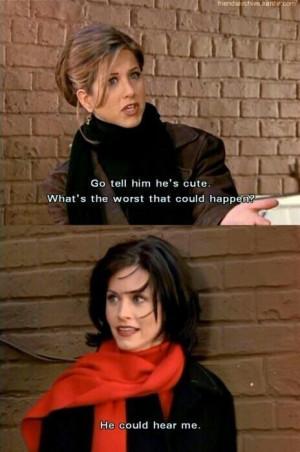like Monica...#Friends Laugh, Life, Monica, Friends Tv, Tv Show Quotes ...