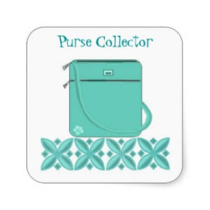 Purse Sayings Stickers