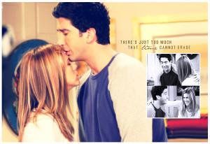 Ross and Rachel Friends