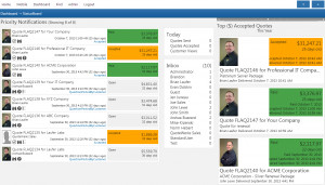 The Find feature allows you to quickly locate and view any QuoteValet ...
