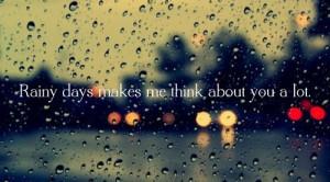 Sad Rainy Day Quotes Sad rainy