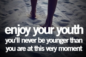 wanna be forever young!!!!!