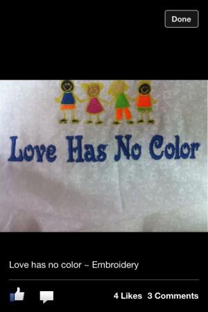 ... Love Quotes , Interracial Love Quotes , Love Knows No Color Quotes