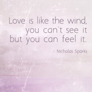 our love is like the wind