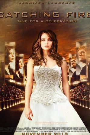 Katniss en robe de mariée ^^