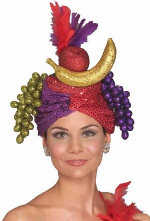 Carmen Miranda Fruit Hat Costume