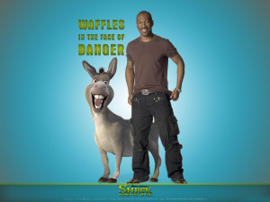 Eddie Murphy as Donkey, Shrek Forever After HD wallpapers
